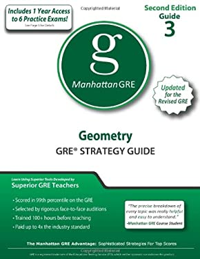 Geometry GRE Strategy Guide 9781935707493