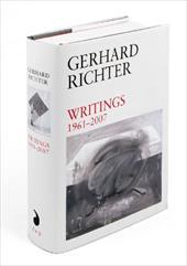Gerhard Richter: Writings: 1961-2007 7809384