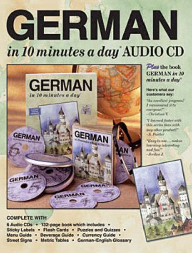 German in 10 Minutes a Day Audio CD 9781931873895