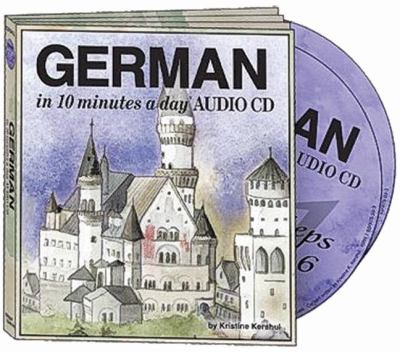 German in 10 Minutes a Day Audio CD Wallet - Library Edition 9781931873260