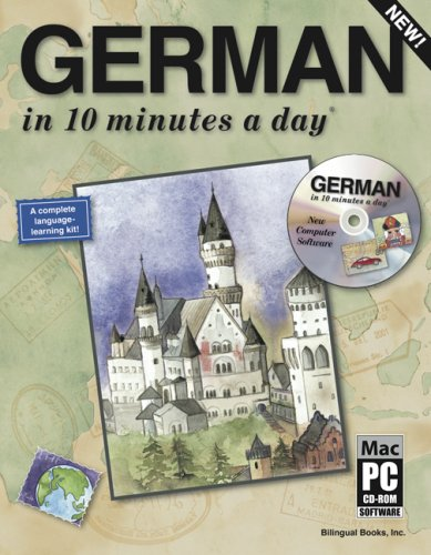 German in 10 Minutes a Day with CD-ROM [With CDROM] 9781931873031