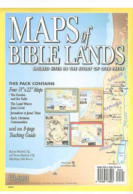 Maps of Bible Lands: Sacred Sites in the Story of Our Faith [With Teaching Guide] 9781933178295