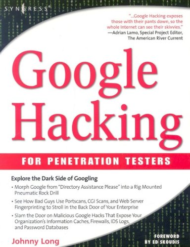 Google Hacking for Penetration Testers 9781931836364