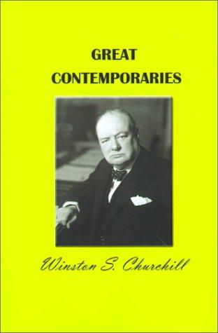 Great Contemporaries 9781931313704