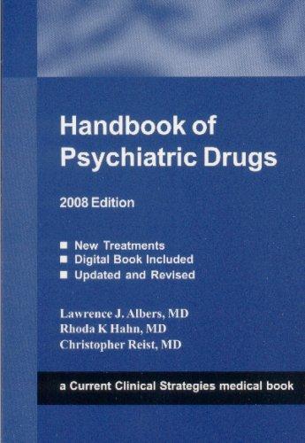 Handbook of Psychiatric Drugs 9781934323021