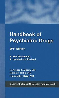 Handbook of Psychiatric Drugs 9781934323311