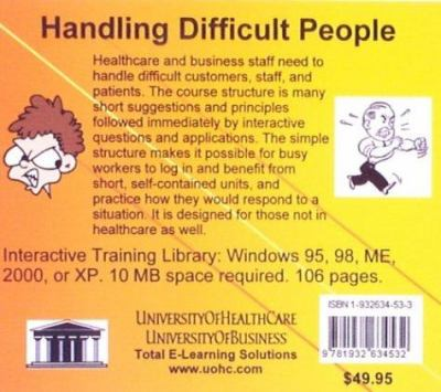 Handling Difficult People 9781932634532