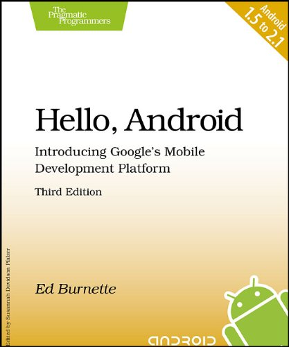 Hello, Android: Introducing Google's Mobile Development Platform 9781934356562