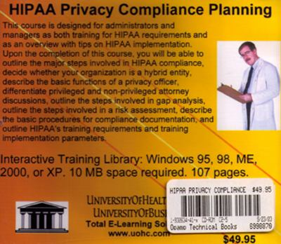 Hipaa Privacy Compliance Planning 9781932634419