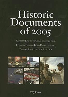Historic Documents of 2005: Includes Cumulative Index, 2001-2005 9781933116594