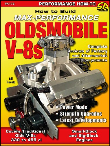 How to Build Max Performance Oldsmobile V-8s 9781934709047