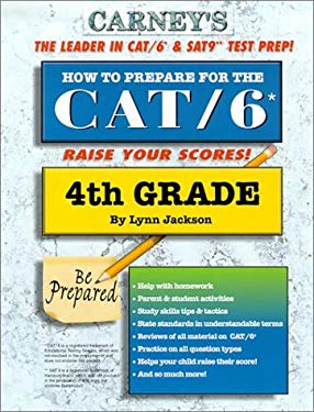 How to Prepare for the Cat/6 4th Grade 9781930288133