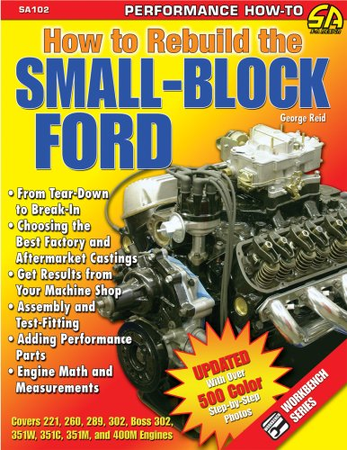 How to Rebuild the Small Block Ford 9781932494891