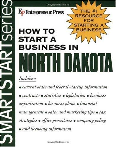 How to Start a Business in North Dakota 9781932156980