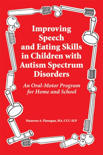 Improving Speech and Eating Skills in Children with Autism Spectrum Disorders: An Oral-Motor Program for Home and School 9781934575239