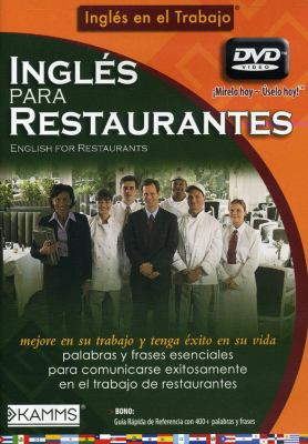 Ingles Para Restaurantes/English for Restuarants 9781934842423