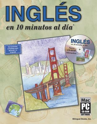 Ingles en 10 Minutos al Dia [With CDROM] 9781931873055