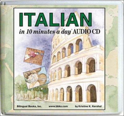 Italian in 10 Minutes a Day Audio CD Wallet - Library Edition 9781931873277