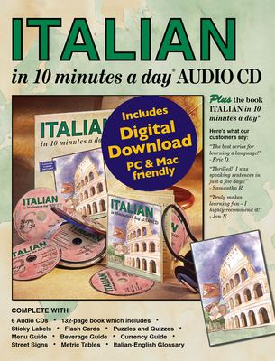 Italian in 10 Minutes a Day Audio CD 9781931873888