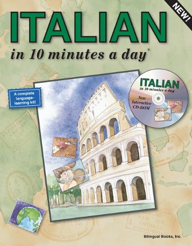 Italian in 10 Minutes a Day with CD-ROM [With CDROM] 9781931873062