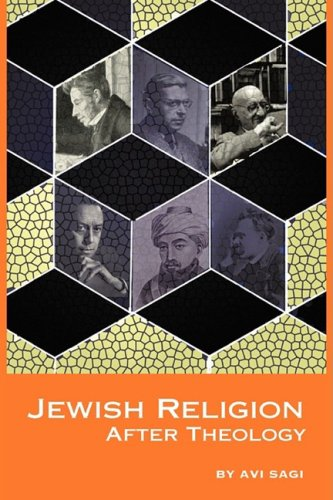Jewish Religion After Theology 9781934843208