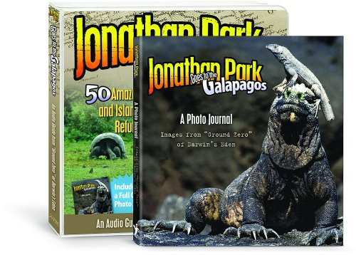 Jonathan Park Goes to the Galapagos: 50 Amazing Creatures and Island Creations That Refute Evolution! [With Paperback Book] 9781933431741
