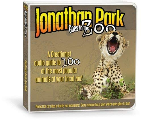 Jonathan Park Goes to the Zoo: A Creationist Audio Guide to 100 of the Most Popular Animals at Your Local Zoo! 9781934554289