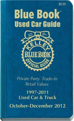 Kelley Blue Book Used Car Guide: October-December 2012 9781936078219