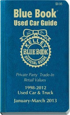 Kelley Blue Book Used Car Guide: January-March 2013 9781936078240