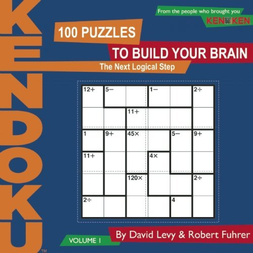 KenDoku, Volume 1: 100 Puzzles to Build Your Brain 9781934734148