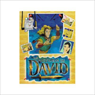 La Historia de David: Cuaderno Para Colorear [With Color Stickers] = Story of David 9781931471121