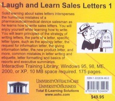 Laugh & Learn Sales Letters 1 9781932634464