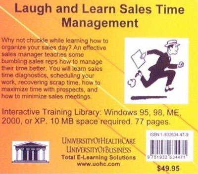 Laugh & Learn Sales Time Management 9781932634471