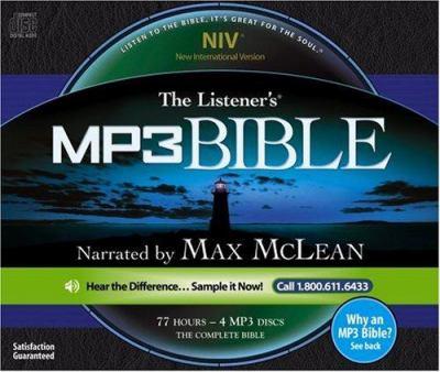 Listener's Bible-NIV 9781931047302