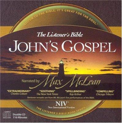 Listener's Bible-NIV-John's Gospel 9781931047364