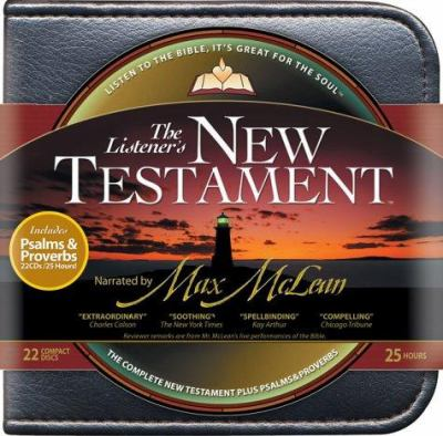 Listener's New Testament with Psalms and Proverbs-NIV 9781931047333