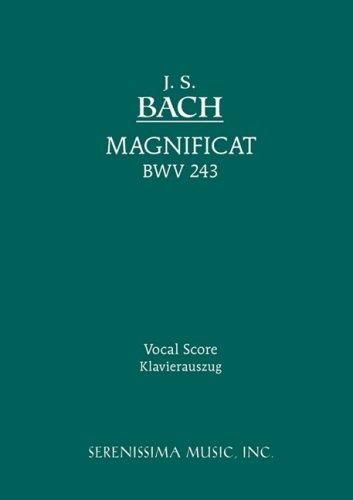 Magnificat, Bwv 243 - Vocal Score 9781932419382