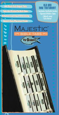Majestic Bible Tabs for Students: Catholic-Appropriate Tabs