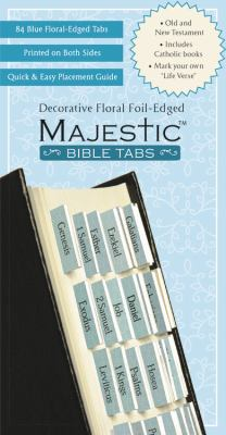 Majestic Floral-Edged Bible Tabs 9781934770146