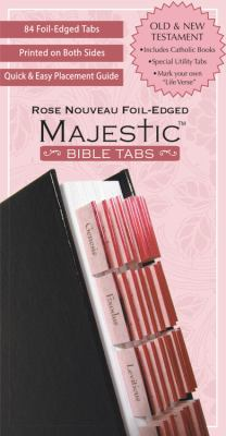 Majestic Rose Nouveau Foil-Edged Bible Tabs 9781934770986