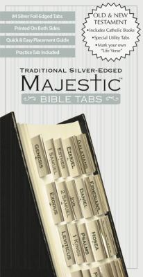 Majestic Traditional Silver-Edged Bible Tabs 9781934770917