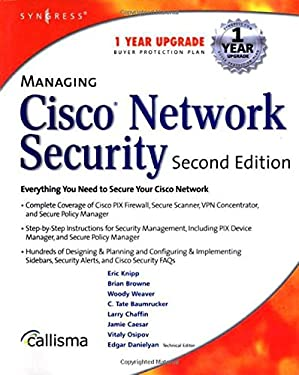 Managing Cisco Network Security 9781931836562