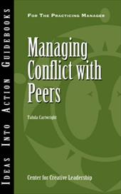 Managing Conflict with Peers