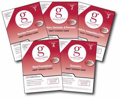 Manhattan GMAT Quantitative Strategy Guide Set 9781935707202