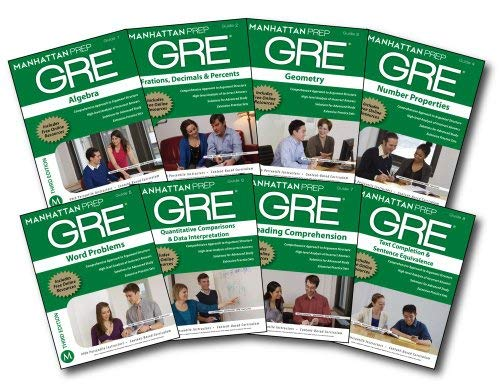 Manhattan Prep GRE Set of 8 Strategy Guides, 3rd Edition 9781935707981