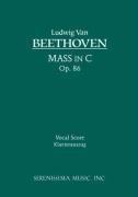 Mass in C, Op. 86 - Vocal Score 9781932419764