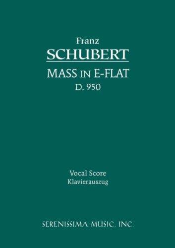 Mass in E-Flat, D. 950 - Vocal Score 9781932419436