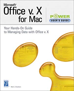 Microsoft Office V. X for Mac Power User's Guide 9781931841115