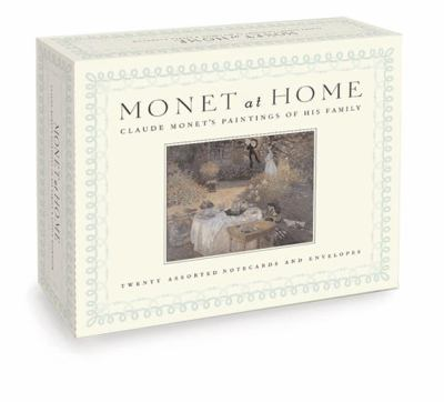 Monet at Home, a Postcard Book: Claude Monet's Paintings of His Family 9781932411003