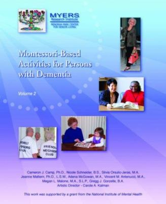 Montesorri-Based Activities for Persons with Dementia Vol 2